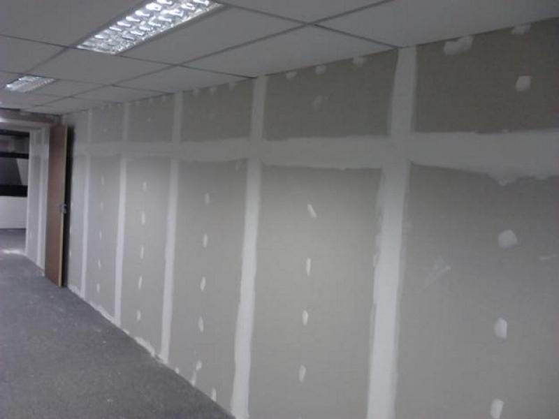Sistemas de paredes de gesso drywall gesso line forros - Paredes divisorias ...